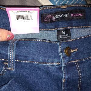 NWT- Girls Jordache Jeans Size 16
